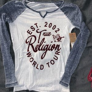 True religion long sleeve